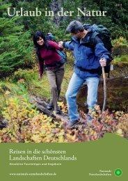 """""""Urlaub in der Natur"""" 2011 - EUROPARC Deutschland"""