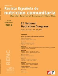 to access the abstract book - European Hydration Institute European ...
