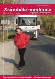 2011 OKTÓBER-NOVEMBER PDF-ben letölthető - Zsámbéki ...