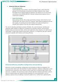WHITE PAPER Optimizing PLC Network Performance and ... - Page 5