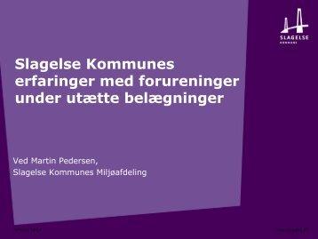 Martin Pedersen, Slagelse Kommune - ATV - Jord og Grundvand
