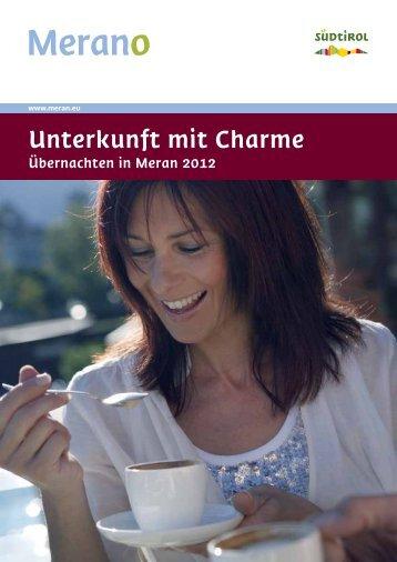 Unterkunft mit Charme - IDT 2013