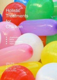 Holistic Treatments for Children - Julian Scott