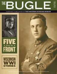 Fall 2012 - Wisconsin Veterans Museum Foundation