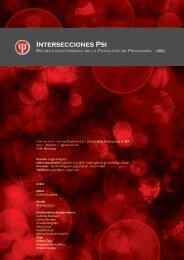 Revista Electrónica de la Facultad de Psicología de la UBA Año 1