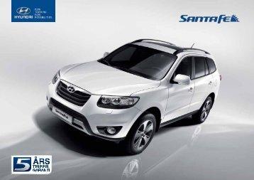 Hyundai Santa Fe brosjyre