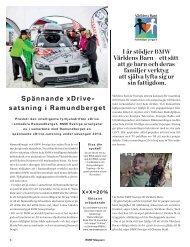 I år stödjer BMW Världens Barn – ett sätt att ge barn och deras ...