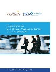 Perspectives sur les Politiques Voyages en Europe - Egencia