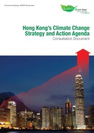 Hong Kong Climate Change Strategy and Action Agenda