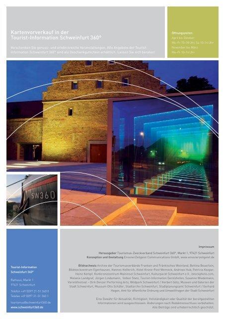 Gastgeberverzeichnis - Schweinfurt 360 Grad