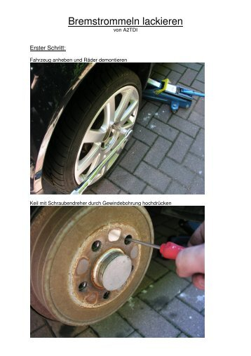 Bremstrommeln lackieren - Leibbrands.de