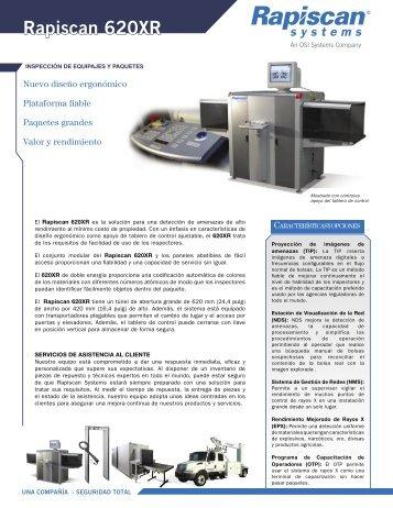 Rapiscan 620XR - Logismarket, el Directorio Industrial
