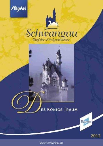 Des Königs Traum - Schwangau