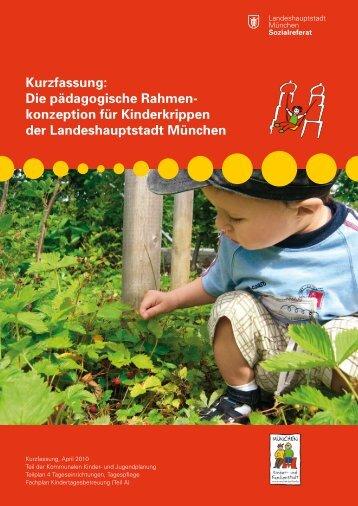 pädagogischen Rahmenkonzeption für Kinderkrippen