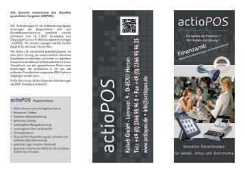 Prospekt (PDF-Datei) - actioPOS.de