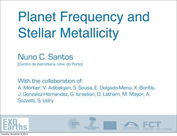 Planet Frequency and Stellar Metallicity