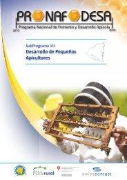 Sub Programa VII: Desarrollo de pequeños apicultores - Pymerural