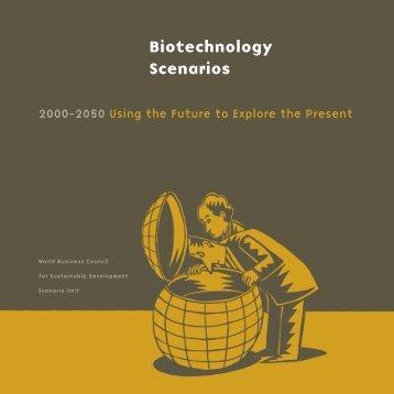 Biotechnology Scenarios - Cecodes