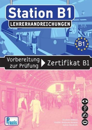 Station B1 - Lehrerhandreichungen.pdf - Praxis