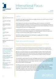 International Focus Issue 85 - October 2012 - International Unit