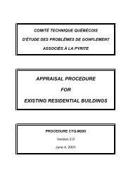 procedure CTQ-M200 - Société d'habitation du Québec