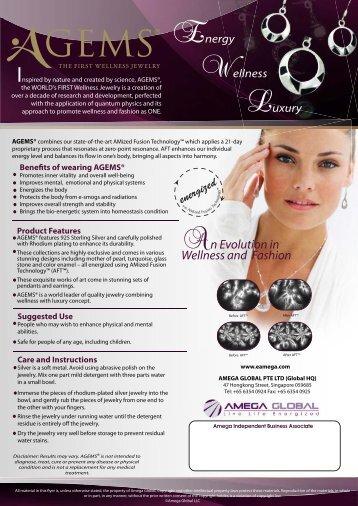 AGEMS Brochure USA - Amega Global Products