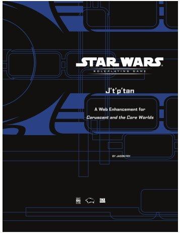 STAR WARS J'T'P'tan - JediSkill Online