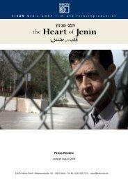 Press Review - Cinema Jenin