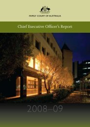 Open PDF - CEO Report 2008-09 - Size 638 KB - Family Court of ...