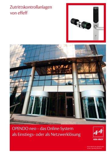OPENDO neo – das Online-System als Einstiegs- oder als ... - effeff