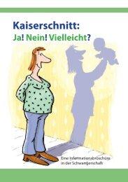 Kaiserschnitt: Ja! Nein! Vielleicht? - Berliner Hebammenverband eV