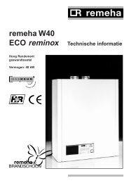 Technische informatie - H. Bosma installatietechniek BV Siddeburen