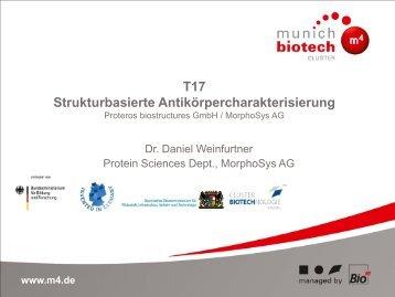 T17 Strukturbasierte Antikörpercharakterisierung - Der Cluster