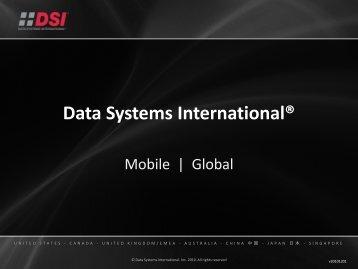 dcLINK Mobile Application Platform