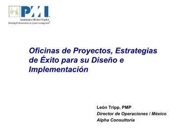 Marzo Oficina de Proyectos, Estrategias de éxito para su Diseño e ...