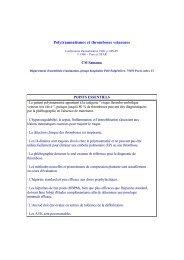 Polytraumatismes et thromboses veineuses