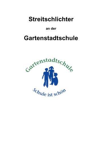 Streitschlichter Gartenstadtschule