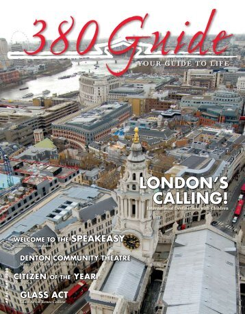 LONDON'S CALLING! - 380Guide Magazine