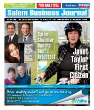 Feb 2012 - Salem Business Journal