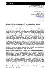 ganze Meldung downloaden (.pdf) - LAGFW Bayern
