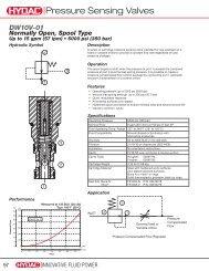DW10V - HYDAC USA