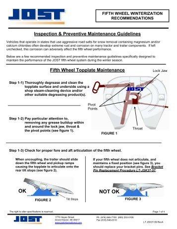 Fifth Wheel Winterization - JOST International
