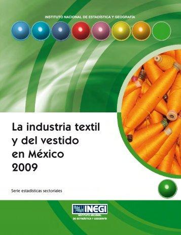 La Industria Textil y del Vestido en México 2009