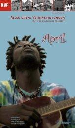 am 24. und 25. April - KUF - Amt für Kultur und Freizeit