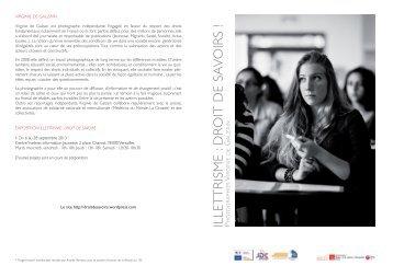 présentation de l'exposition au format pdf