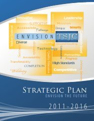 Strategic Plan (pdf) - Trinidad State Junior College