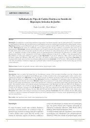 Influência do Tipo de Cadeia Cinética no Sentido de ... - APF