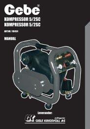 Kompressor 5/2sC Kompressor 5/2sC