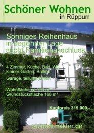 Sonniges Reihenhaus in begehrter Lage sucht ... - oststadtmakler.de