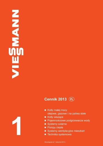 Cennik 2013  - Viessmann